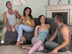 Couples foursome married