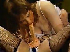 Brunette Hardcore Pornstar Vintage