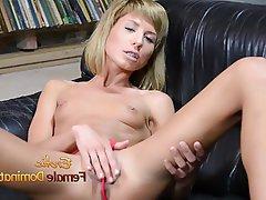Dildo German Masturbation Small Tits
