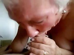 Blowjob Granny Handjob Mature Old and Young