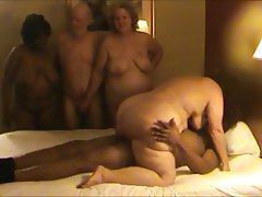 Anal BBW Group Sex