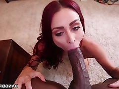 Big Boobs Hardcore Interracial Pornstar