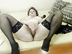 Webcam, Masturbation, Mature, Russian