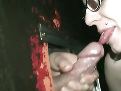 Blonde Blowjob Cum in mouth
