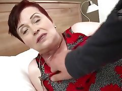 Big Boobs Blowjob Cumshot Granny