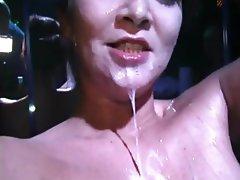 Amateur Blowjob Brunette Cum in mouth Facial