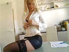 German, POV, Stockings