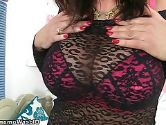 British Mature MILF Stockings