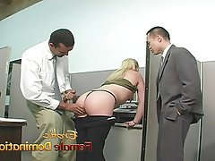 Femdom Interracial Masturbation Mistress Threesome