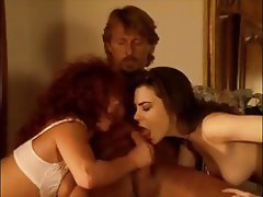 French Hairy Hardcore Threesome Vintage