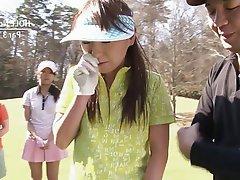 Japanese Teen Blowjob Threesome
