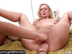 Anal Blonde Fisting Russian Teen