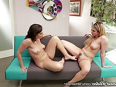 Lesbian MILF Old and Young Small Tits Strapon