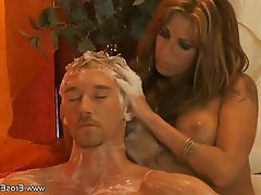 Blonde Massage MILF