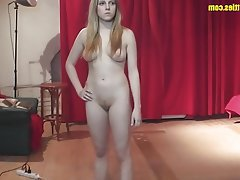 Amateur Blonde Casting POV