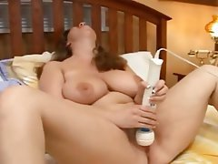 BBW Big Butts Dildo Masturbation