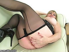 Mature Stockings MILF British