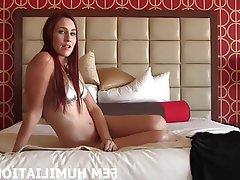 BDSM Bisexual Femdom Lingerie POV