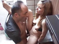 German Old and Young Mature Threesome