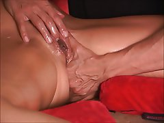Close Up, Squirt, MILF, Massage
