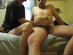 French Amateur Handjob Old and Young