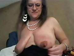 Masturbation Mature Saggy Tits