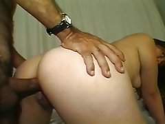 Facial Interracial Threesome Spanish