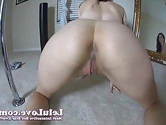 Brunette Close Up Masturbation POV