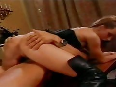 Anal Group Sex Stockings Double Penetration