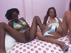 Amateur Casting Hardcore Interracial Threesome