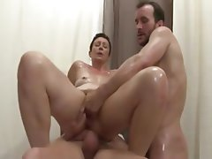 Cum in mouth Double Penetration Fisting Mature Threesome