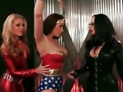 BDSM Bondage Lesbian Stockings Strapon