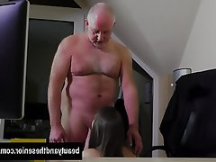 Blowjob Brunette Facial Hardcore Old and Young