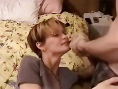 Blowjob Cum in mouth Facial Handjob