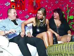 Big Boobs German Hardcore Teen Threesome