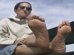 Foot Fetish MILF Wife