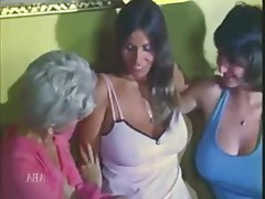 Hairy Lingerie Threesome Vintage