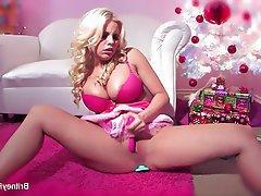 Big Boobs Blonde Masturbation Pornstar