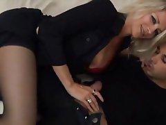 Blonde, Double Penetration, Hardcore, MILF