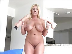 Blonde Masturbation Mature Orgasm