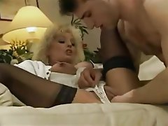 Blonde Fisting French Anal