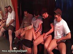 Group Sex German Bukkake Orgy Anal