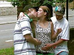 Big Boobs Gangbang Group Sex Orgy
