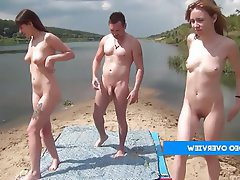 Amateur Beach Group Sex Swinger