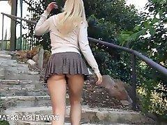 Amateur Public MILF Upskirt