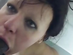Amateur Blowjob Shower Black Cock Big Cock