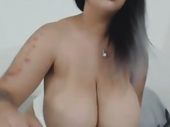 Amateur BBW Dildo Webcam