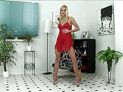 Anal Blonde Double Penetration Lingerie