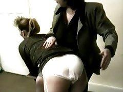 Amateur Pantyhose Spanking Vintage