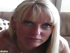 Amateur Blonde German MILF